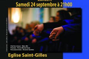 Concert à Bourg-La-Reine