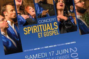 Concert Spirituals & Gospel à l'Eglise Allemande