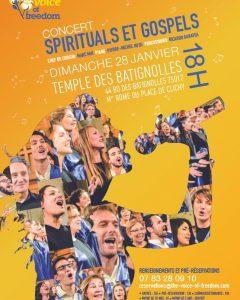 The Voice of Freedom en concert à Paris!