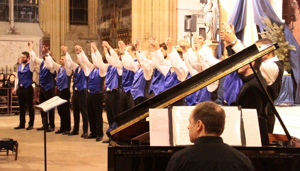 Concert Spirituals et Gospel à Parisau profit d'Enfance et Partage