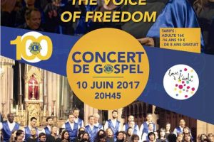 The Voice of Freedom chante à Montfort l'Amaury