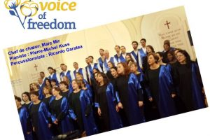 The Voice of Freedom part à Suresnes!