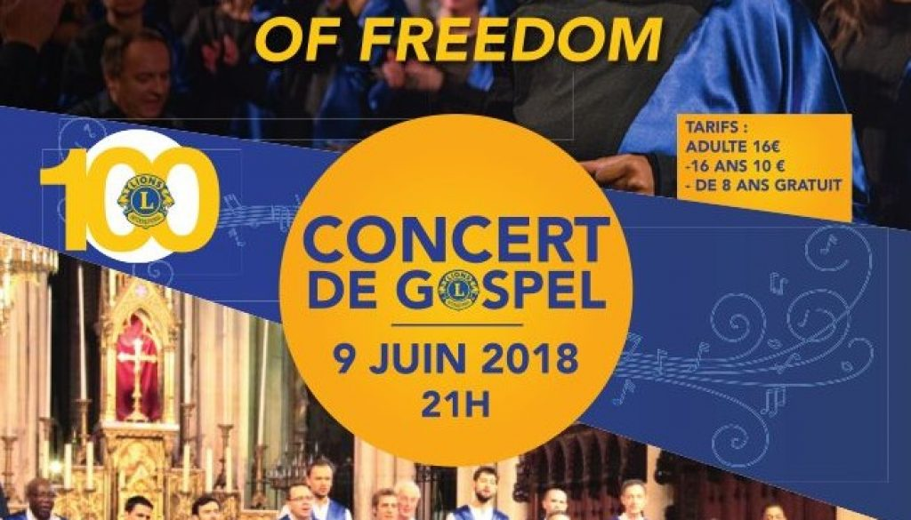 The Voice of Freedom enchante Montfort l'Amaury