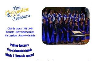 Concert à Aubepierre (77) le 1er décembre 2018 à 20h