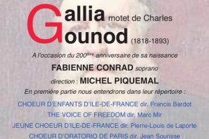 Gallia de Charles Gounod  – Association des chefs de chœur