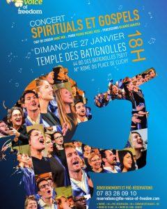 Concert aux Batignolles à Paris le 27 janvier 2019
