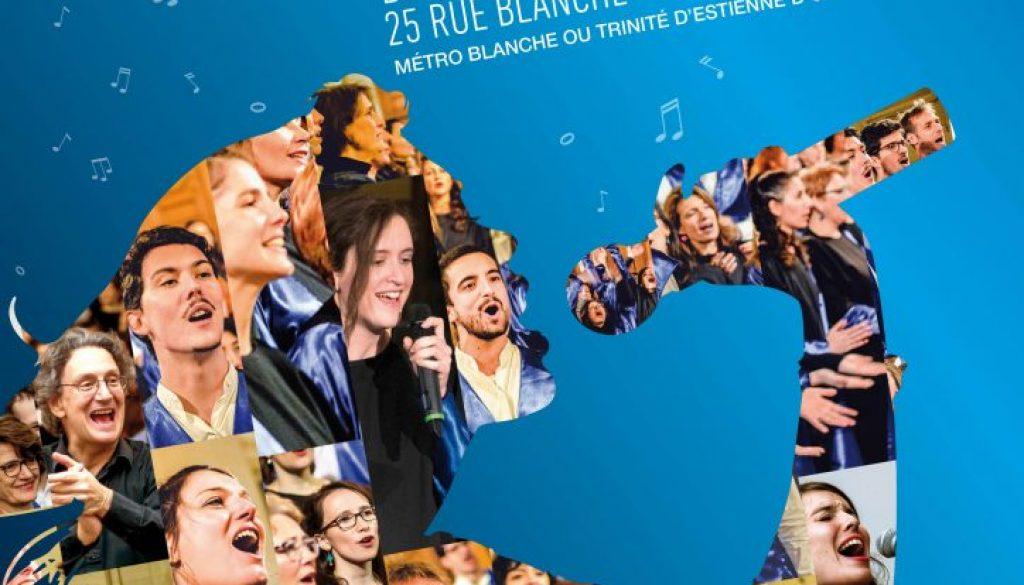 Concert de fin de saison le 15 juin 2019  à l'Eglise Allemande à Paris