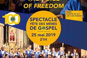 Concert pour le Lion's Club à Montfort l'Amaury le 25 mai 2019