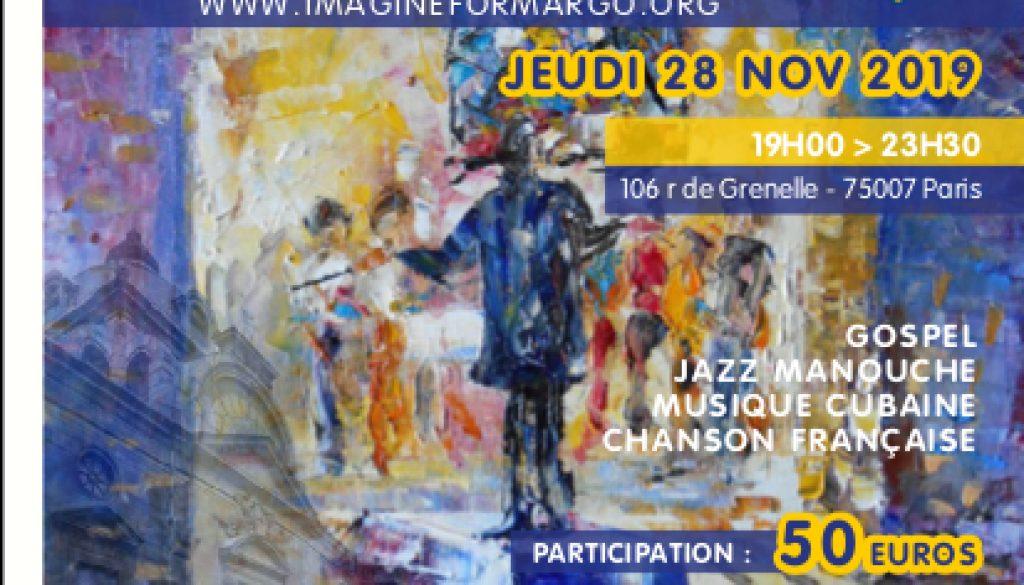 Concert Gospel au profit de Imagine For Margo à Paris